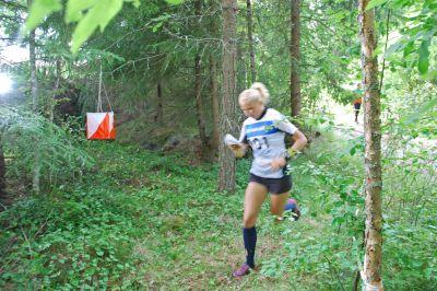 Till fina tävlingsområden kommer orienterarna långväga ifrån, försäkrar Marika Teini. (Foto: Atte Koskela)